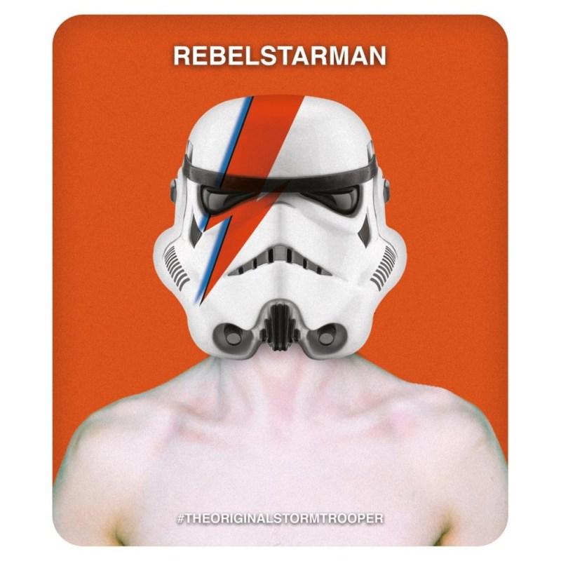 rebel starman star wars birthday card