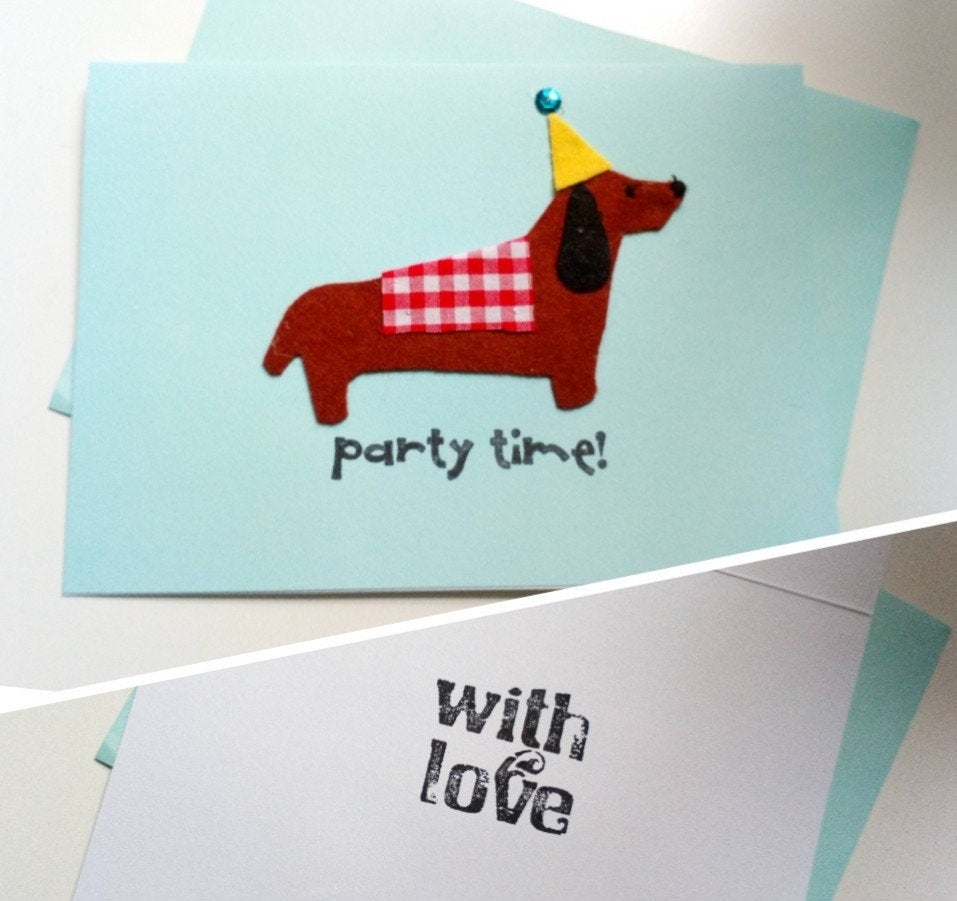 sausage dog birthday card dachshund birthday card handmade sausage dog birthday card sausage dogs uk doxie