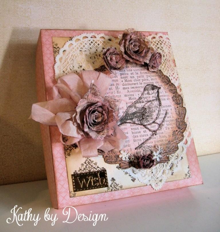 shadow box birthday card 02 kathy design