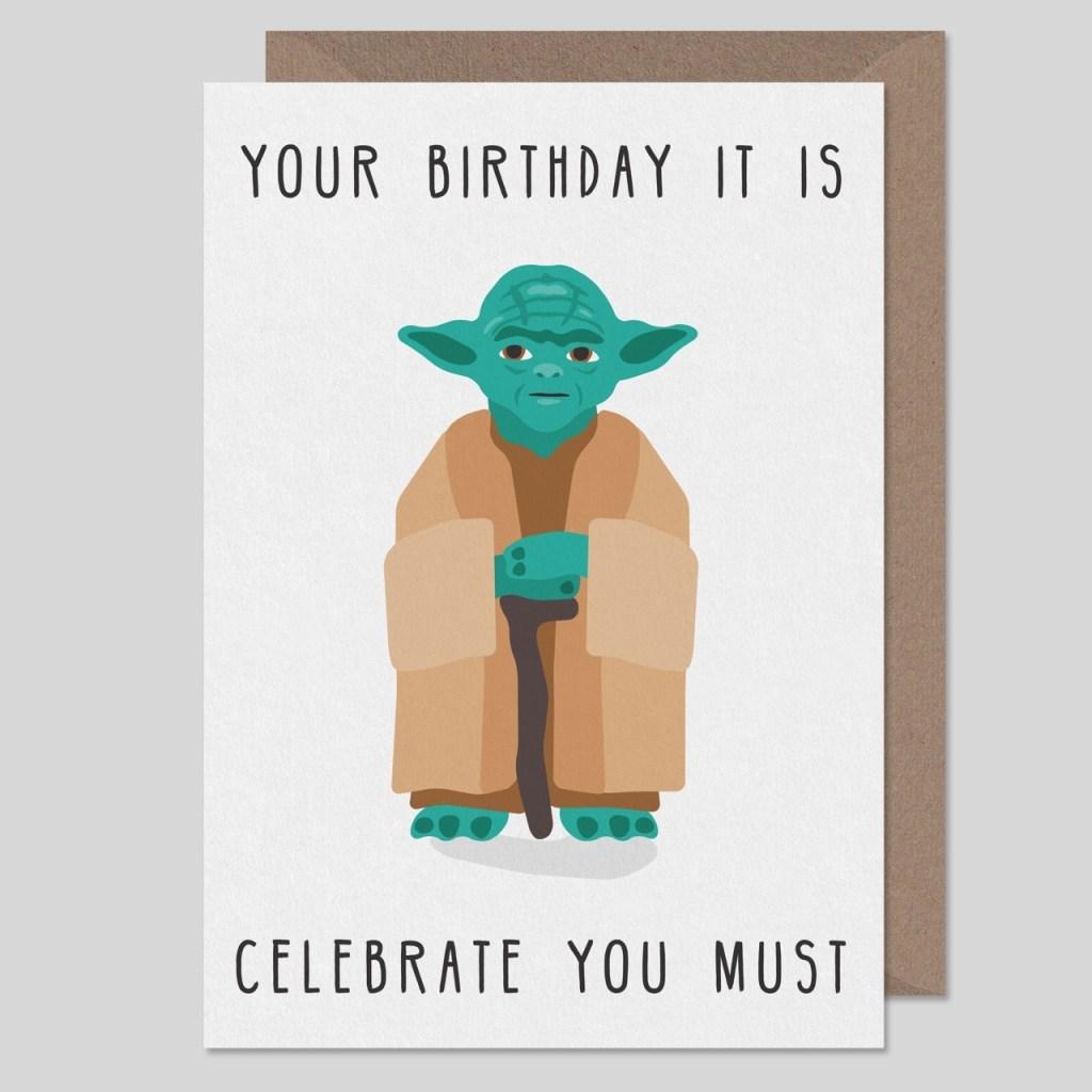 star wars birthday card star wars card birthday card depop