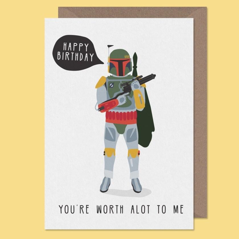 star wars birthday card star wars card birthday