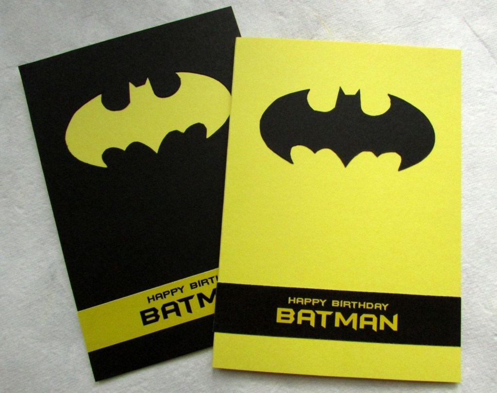 batman birthday card happy birthday batman handmade