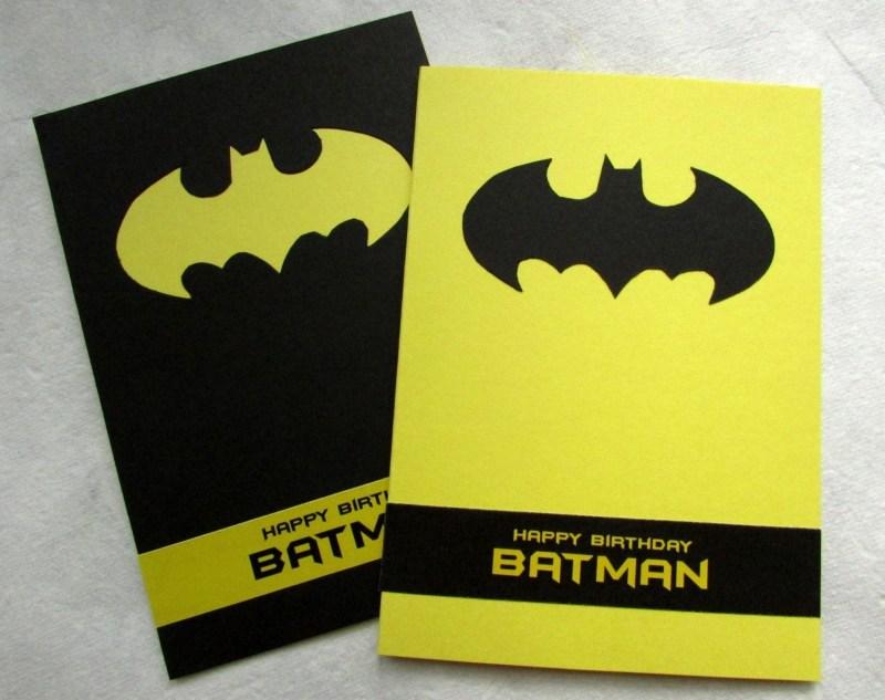 batman birthday card happy birthday batman handmade