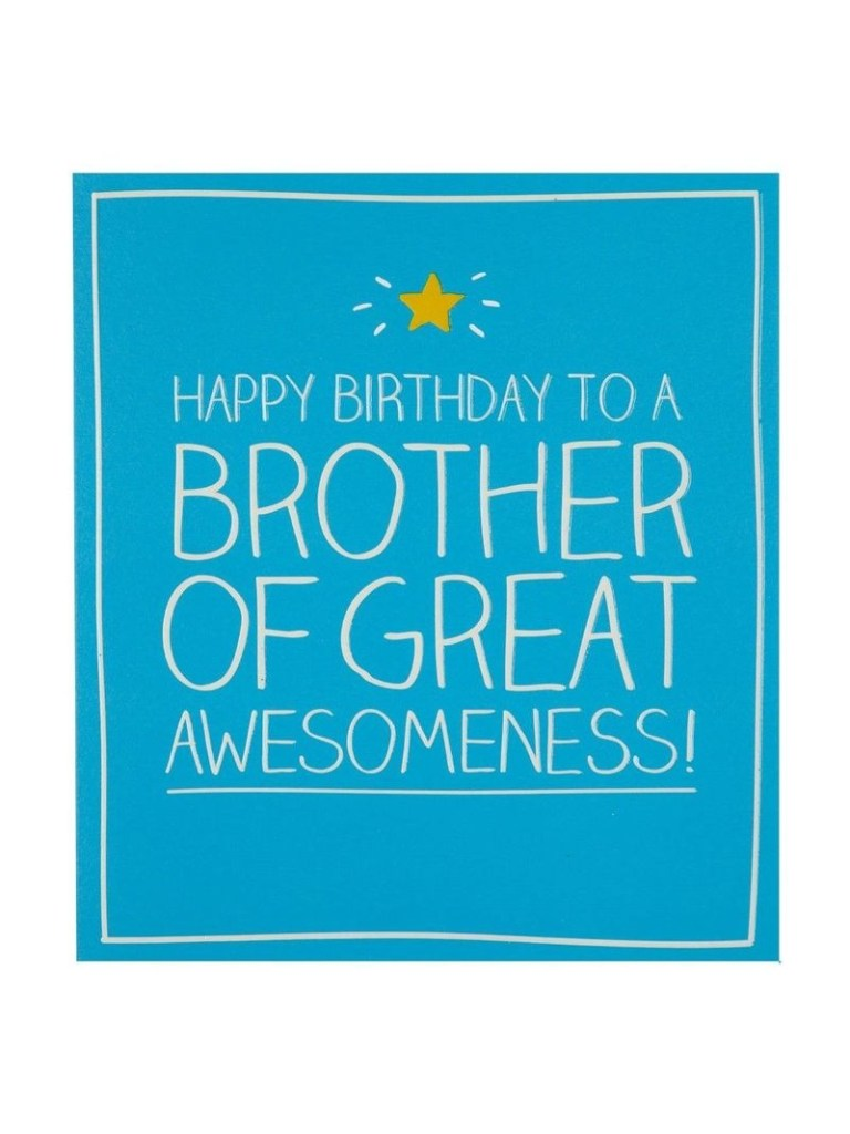 pigment happy jackson brother of great awesomeness greeting card greeting cards gifts greeting cards stationery virgin megastore