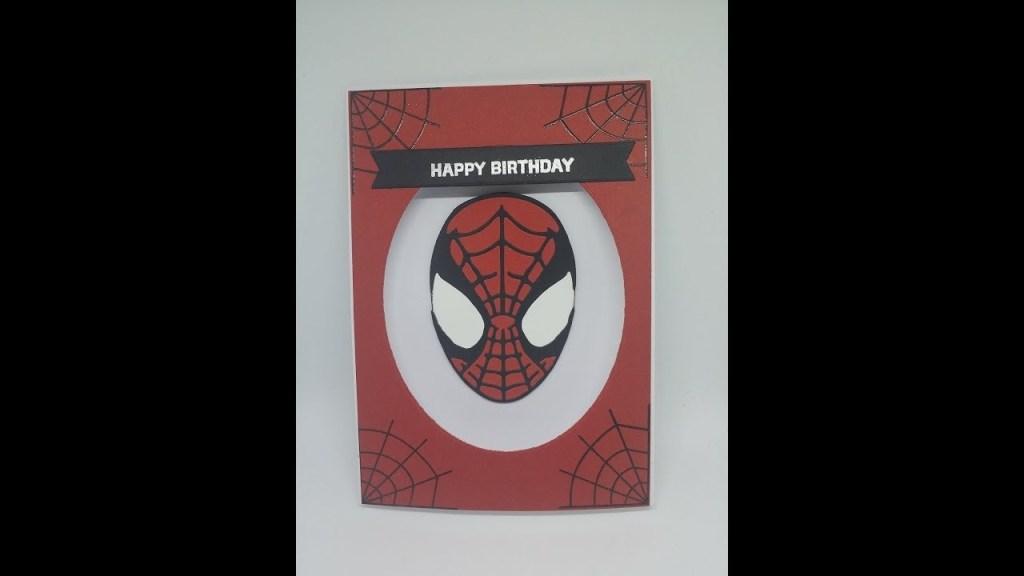 spiderman birthday card youtube