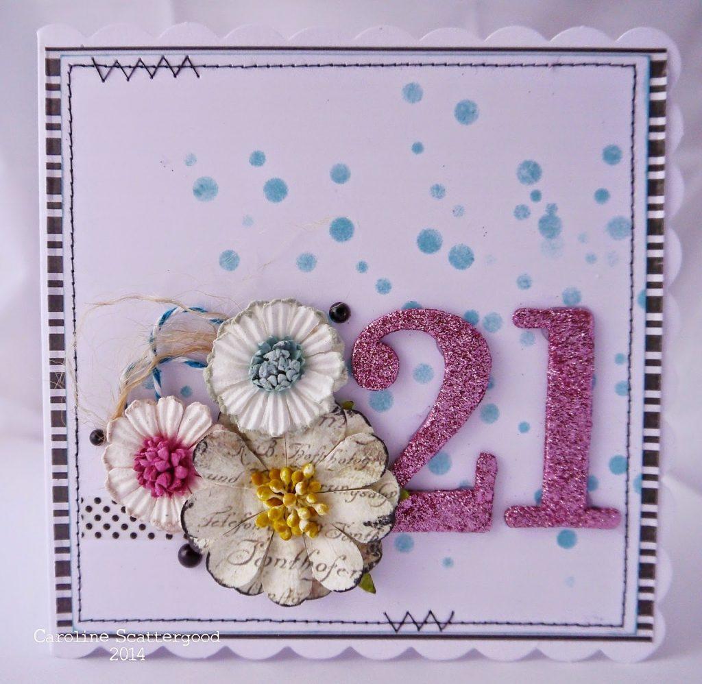 tando creative free for all 21st birthday card