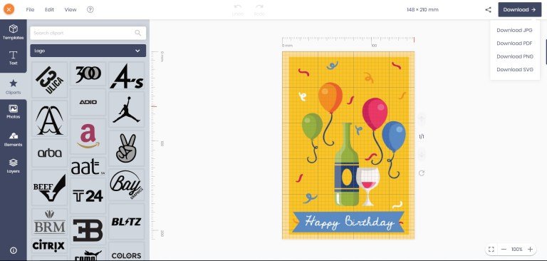 free online birthday card maker no registration no