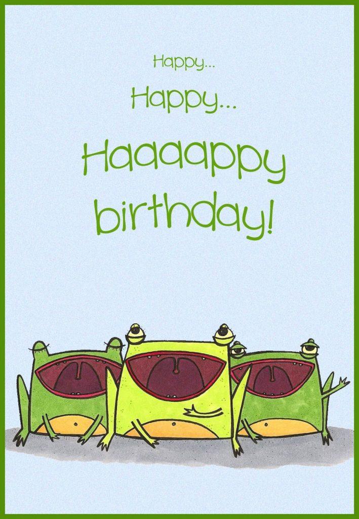 free printable happy birthday choir greeting card happy