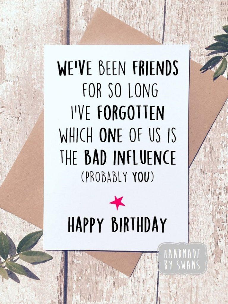funny birthday card birthday card friend best friend card friend birthday card card for friend funny card for friend card for bff