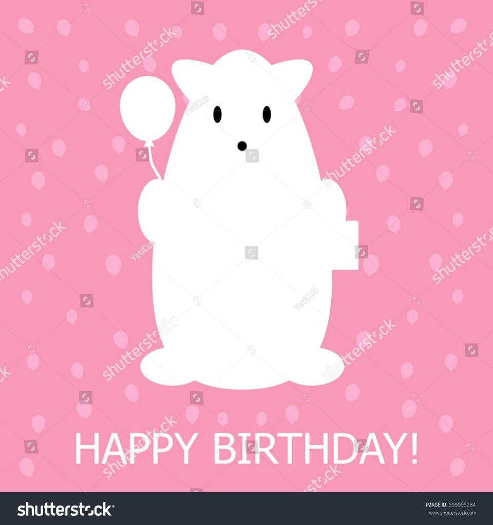 greeting card text happy birthday funny stock vektorgrafik