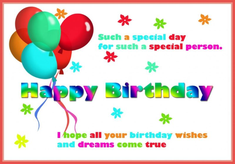 happy birthday card for you free printable greeting cards