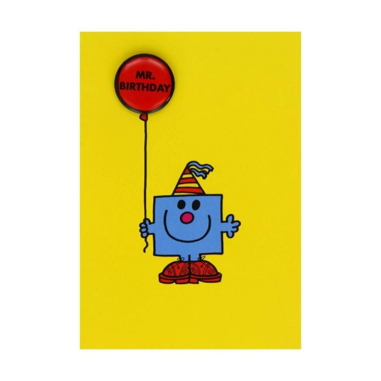 mr birthday greeting card with badge near me nearst