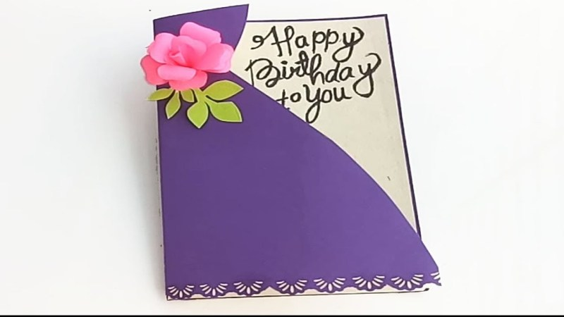 sister happy birthday cards ideas diy birthday card complete tutorial