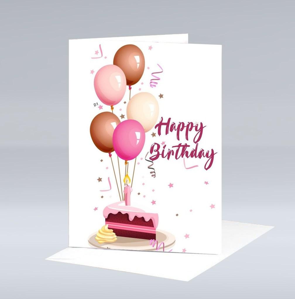 birthday wishes greeting card