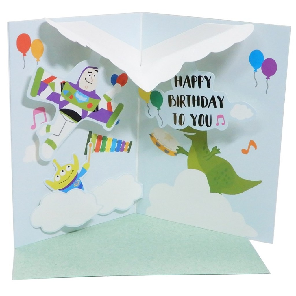 celebration of toy story greeting card popup birthday card disney apj birthday gift card fancy goods cinema collection