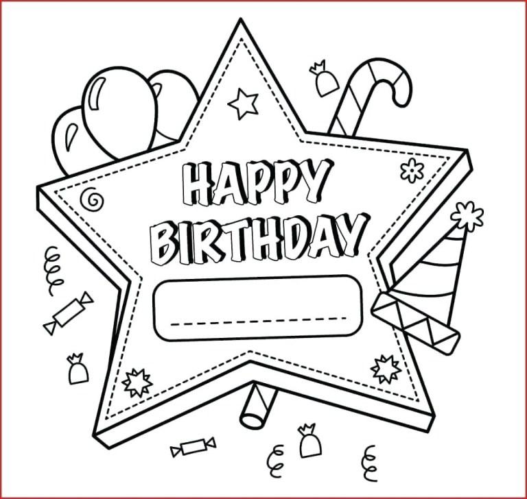coloring book coloring book free printable happy birthday