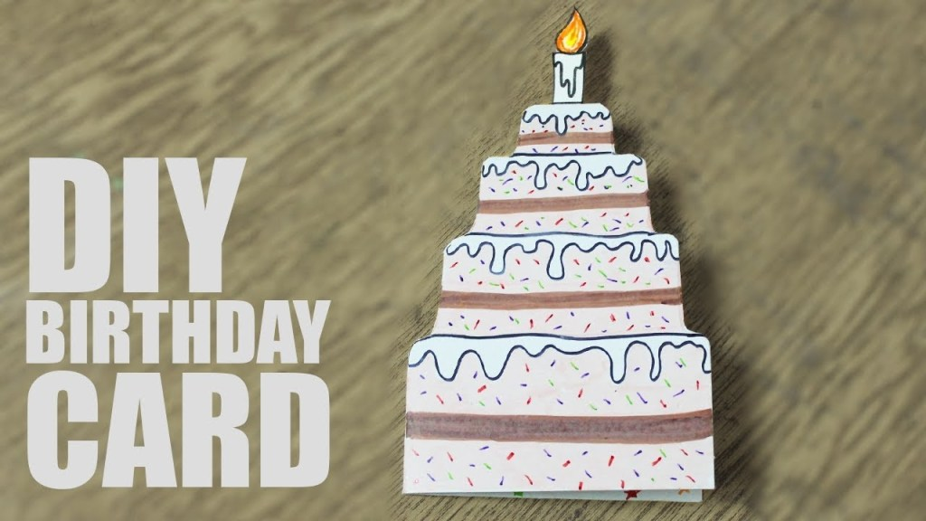 diy birthday card for sister handmade cards for birthday ideas