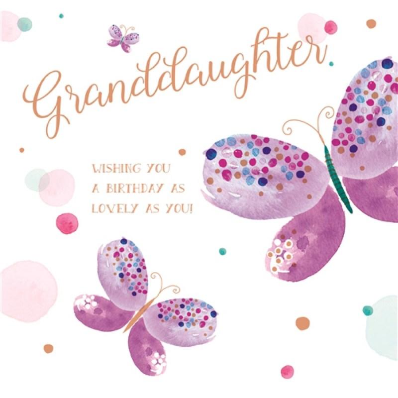 family circle card text granddaughter