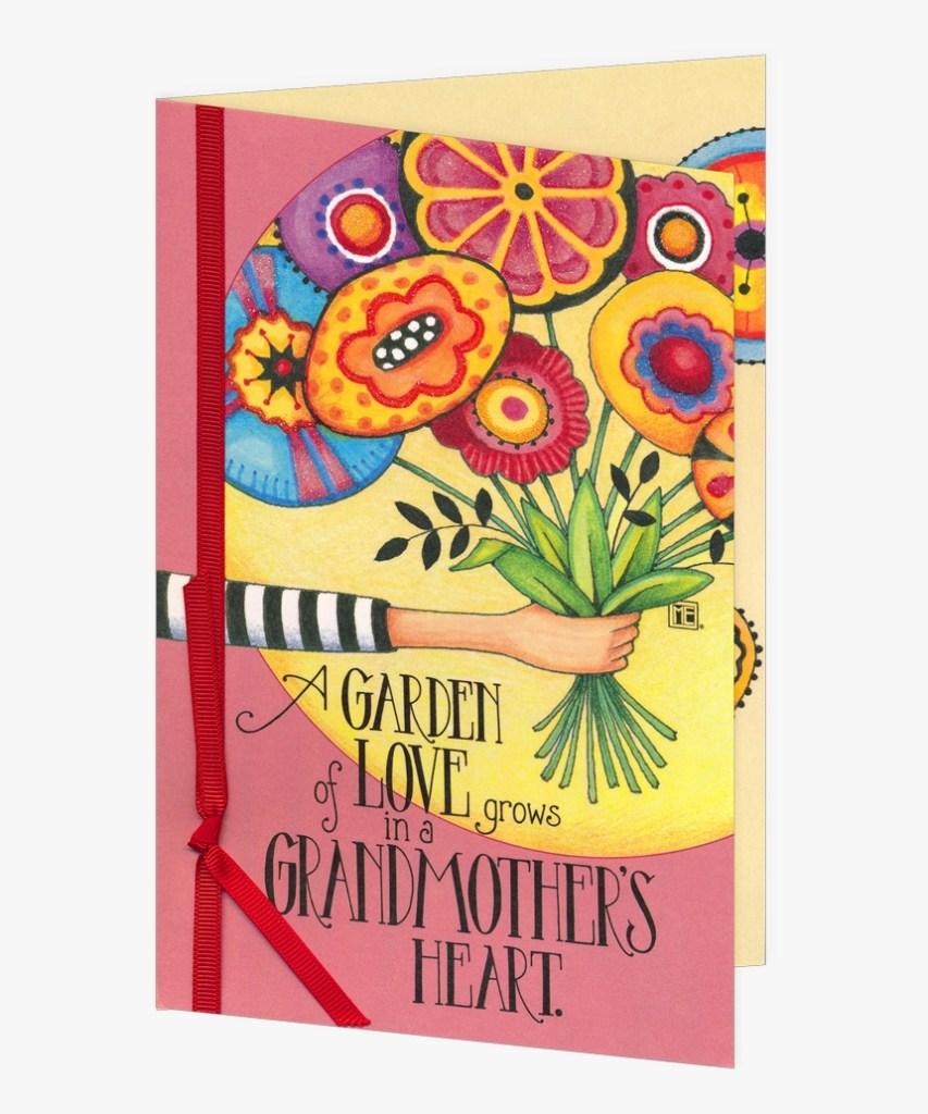 garden of love grandmother birthday card birthday cards