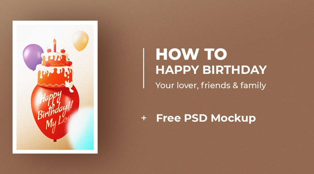 happy birthday card tutorial free download on pantone