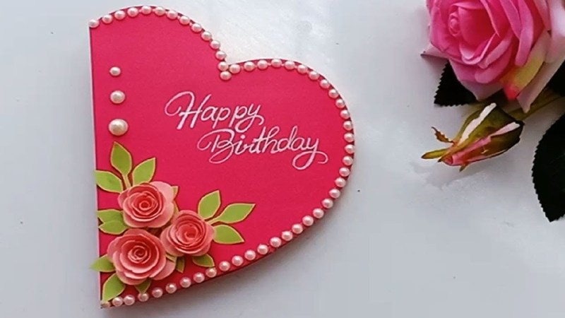 how to make special birthday card for best frienddiy gift idea