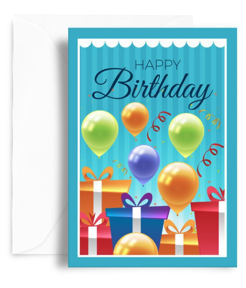 kaarti happy birthday greeting card sk0496 buy online at