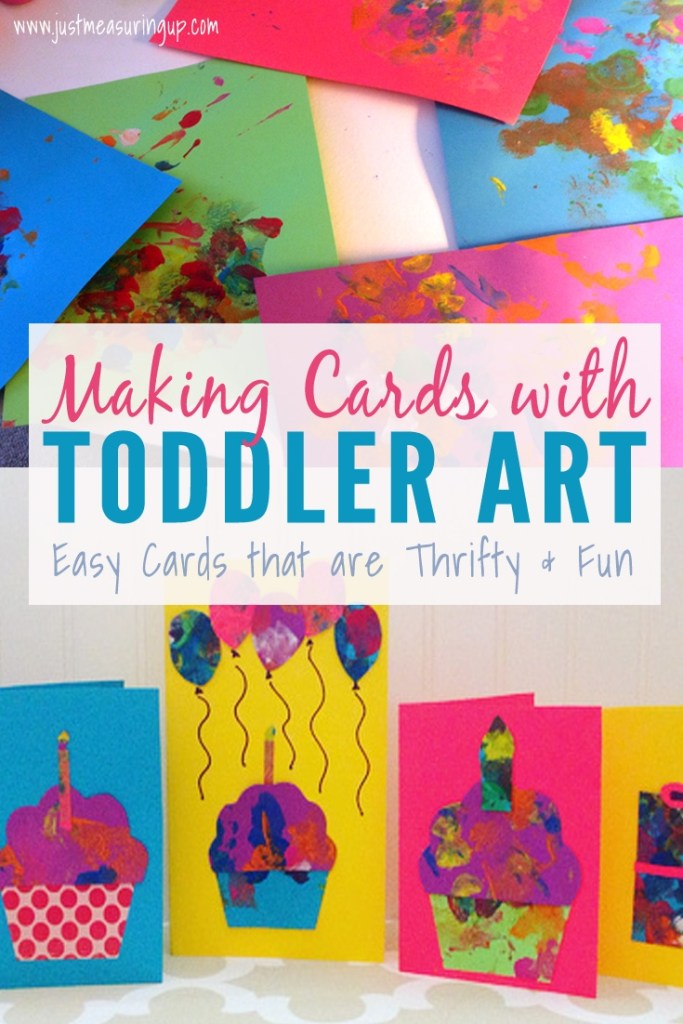 making cards with toddlers creating greeting cards from