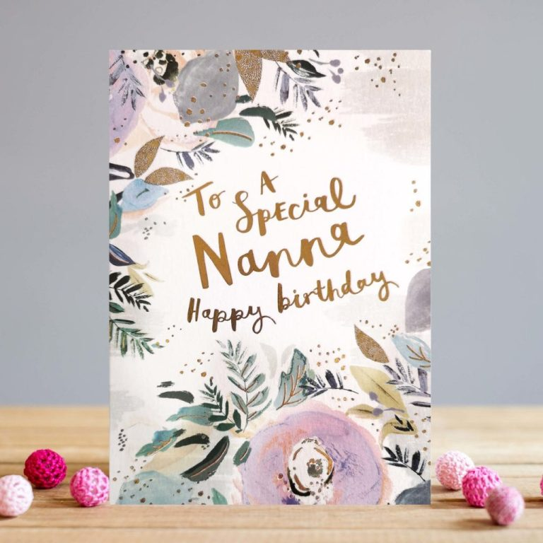nanna birthday cards