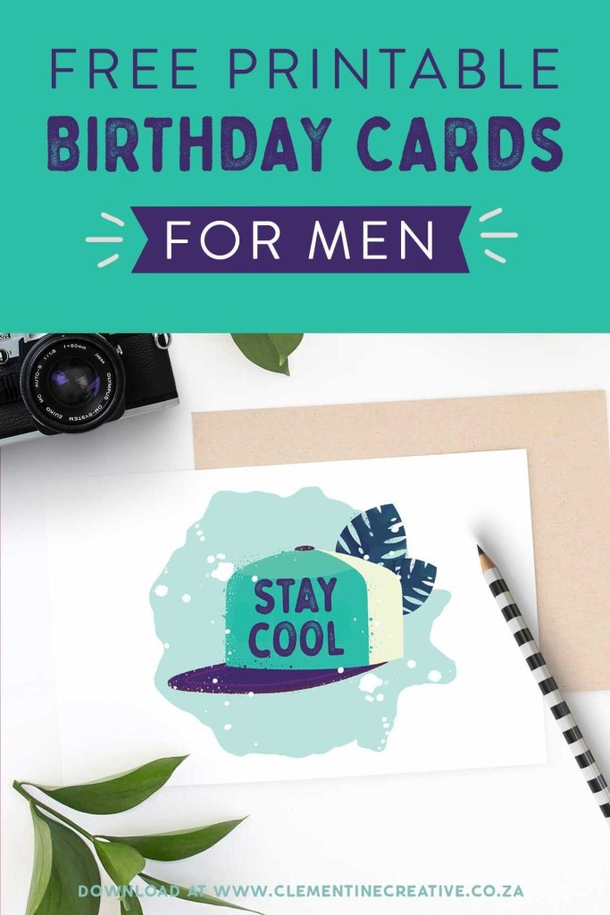 printable birthday cards for him premium birthday cards