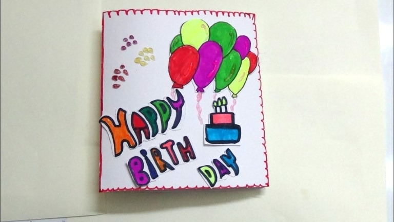 simple birthday card designs baeti