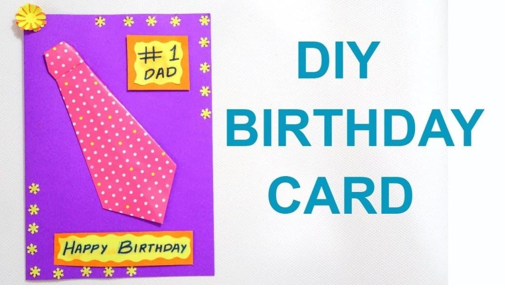 birthday card for father diy birthday card fathers day card diy card for father dad birthday