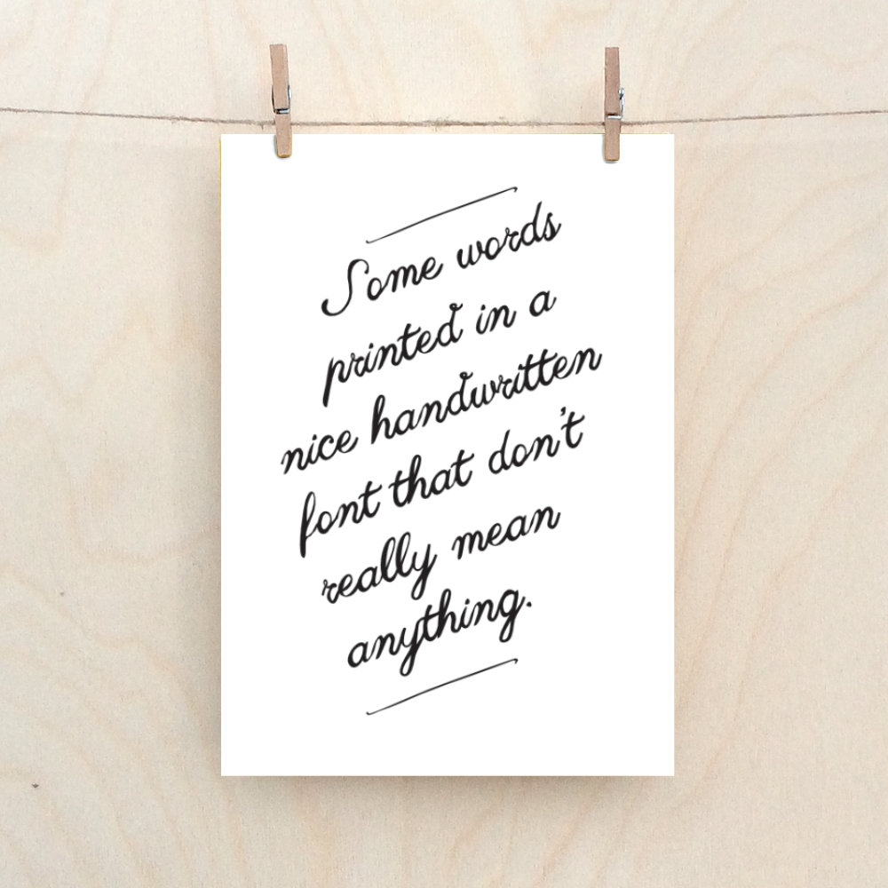 some words funny love card birthday card