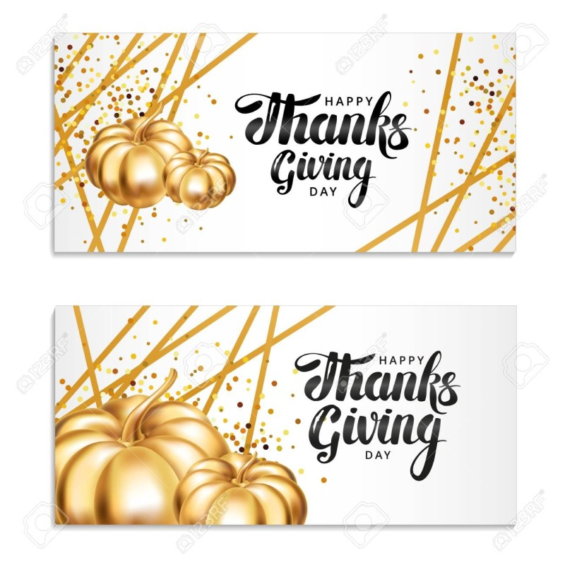 thanksgiving day greeting card template