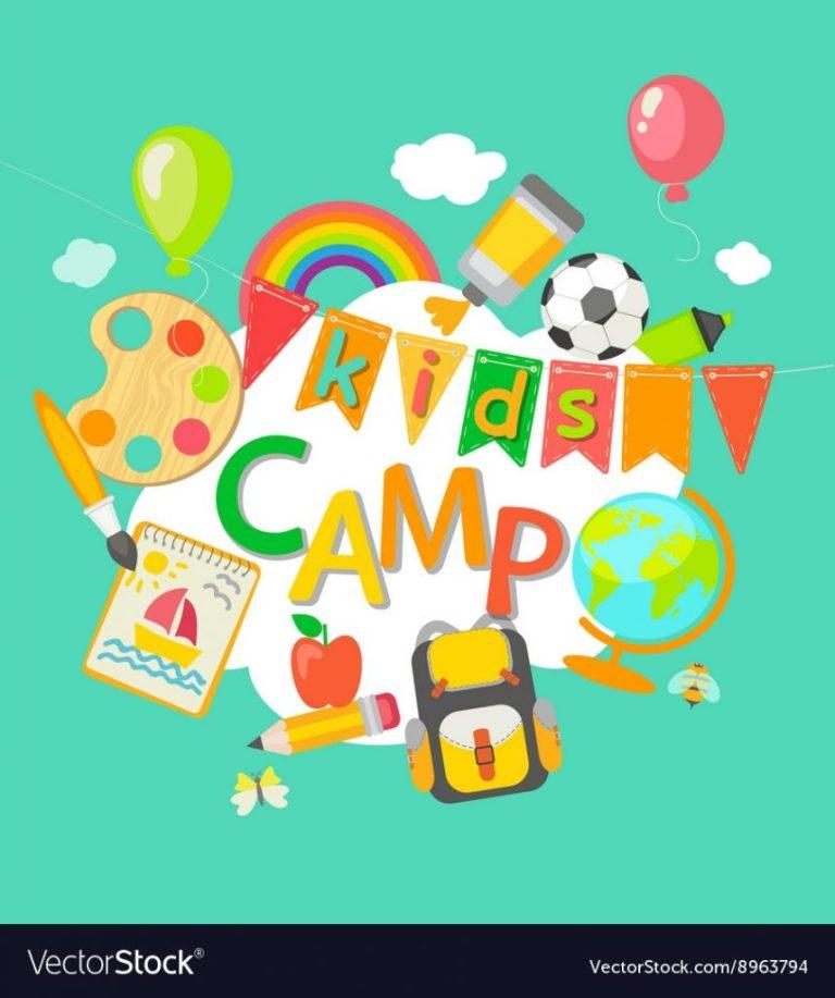 summer camp banner design