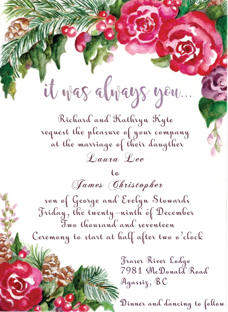 thanksgiving ceremony invitation