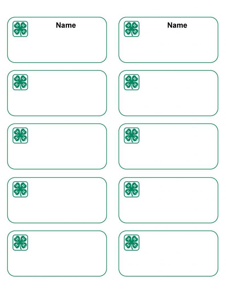 name tag badge templates