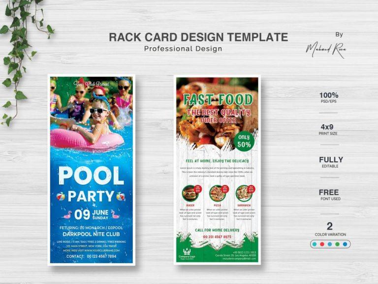 rack card design and print