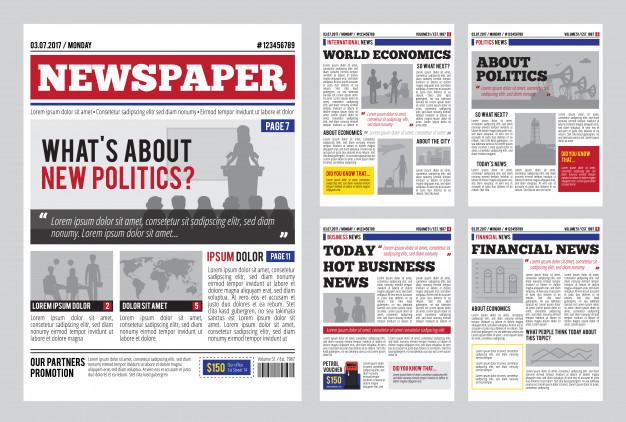 wedding newspaper template free doctemplates