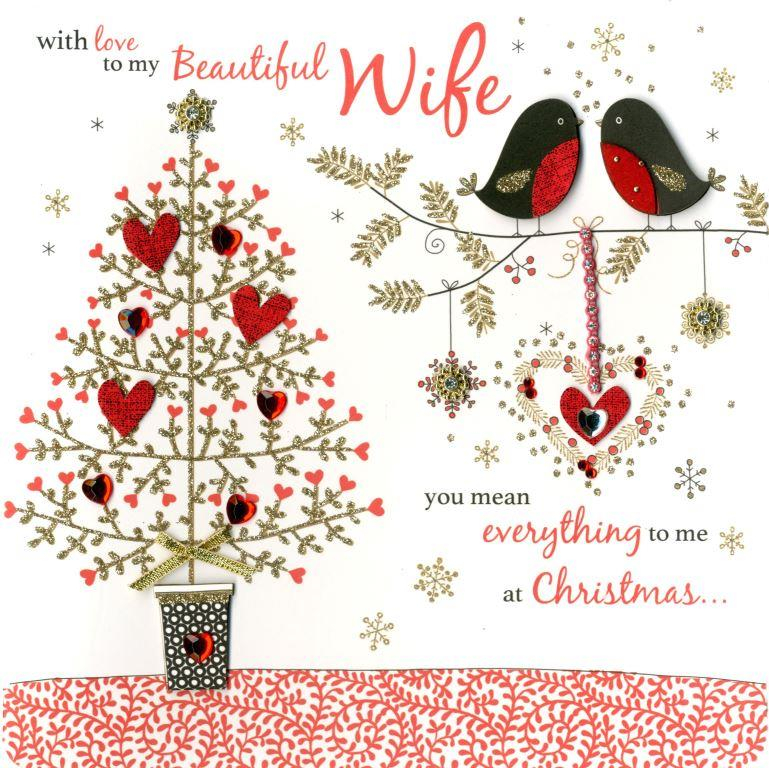 boxed beautiful wife special luxury handmade christmas