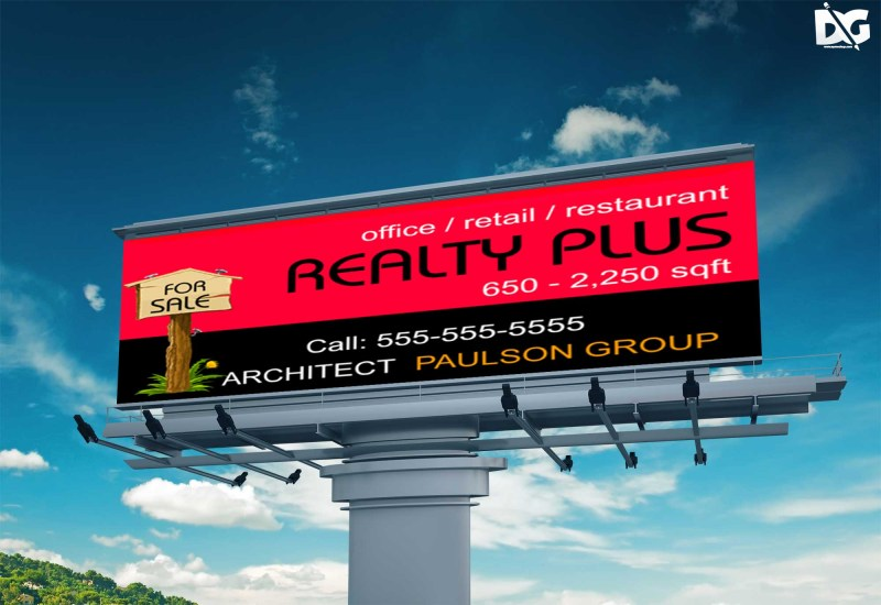 free billboard psd mockups
