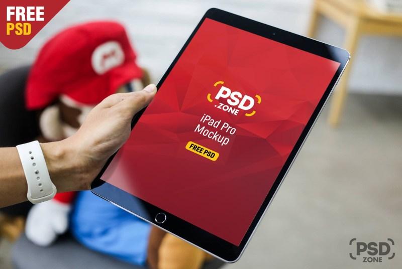 free ipad pro mockup psd download psd