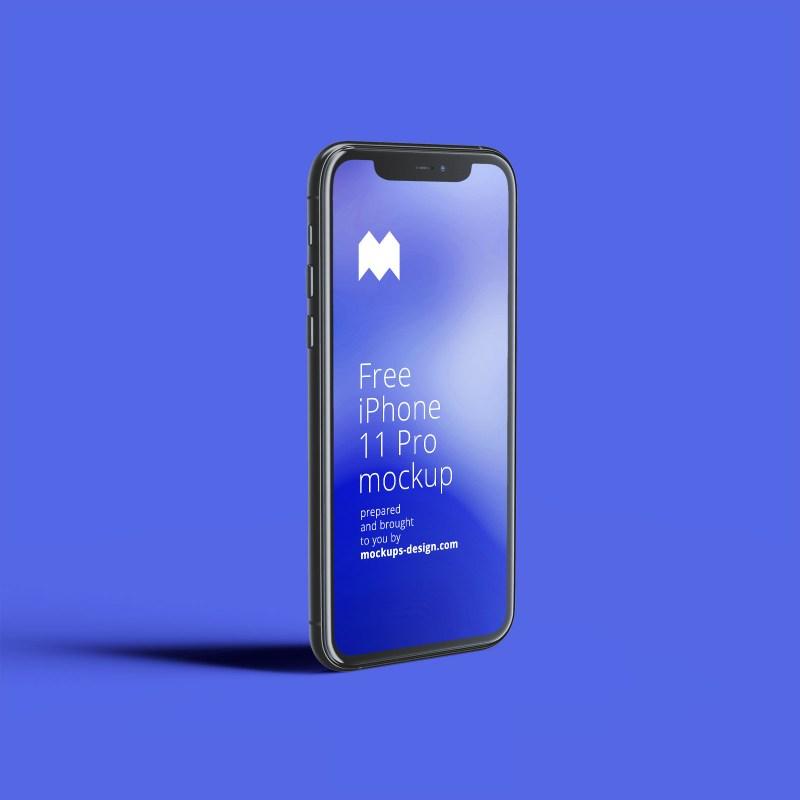 free iphone 11 pro mockup psd set good mockups