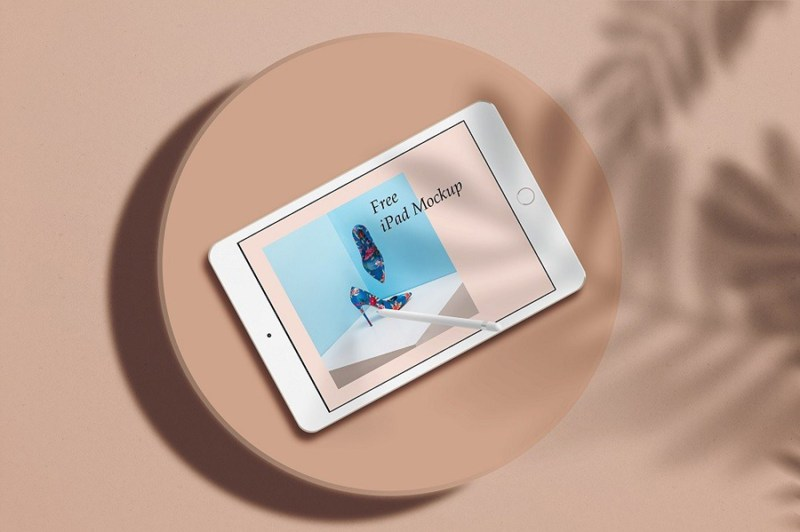 free stylish ipad mockup free design resources