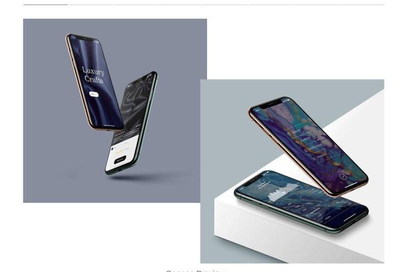 iphone 11 pro mock ups on behance