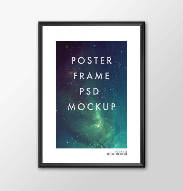 poster frame psd mockup vol 1