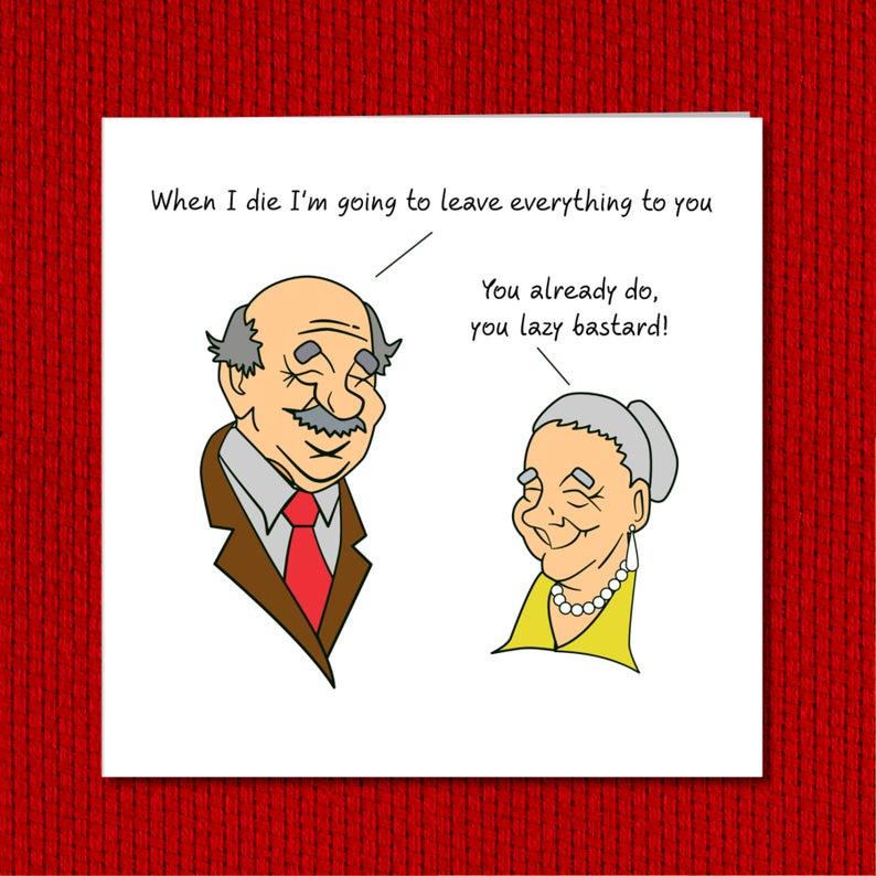 funny birthday card 40th 50th 60th 70th birthday for wife