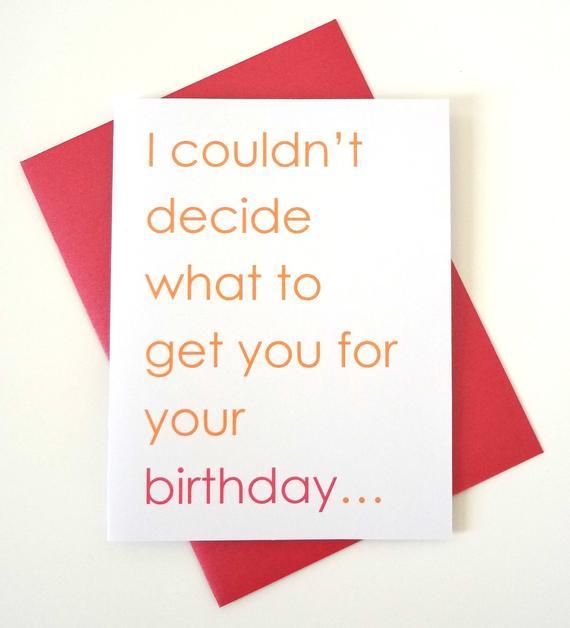 funny sexy birthday card for boyfriend husband wife