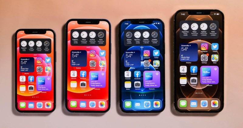iphone 12s four models compared differences between