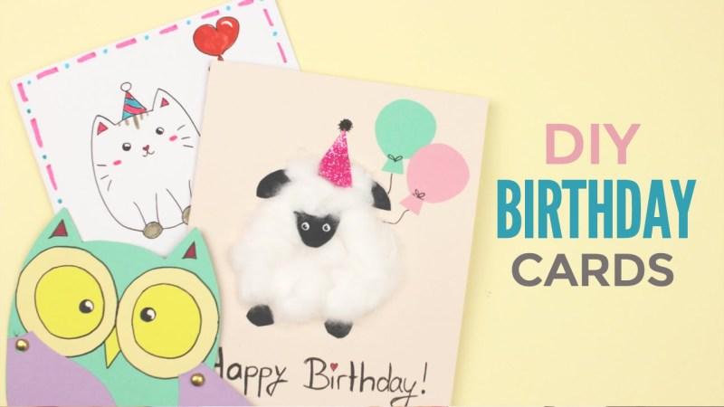 diy cute birthday cards birthday mail dosomething