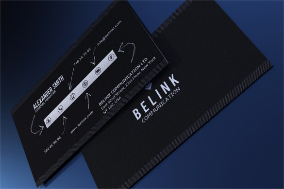 51 cool business card templates word pages ai psd